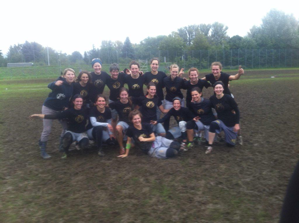 Heidees Women-Team 2014 auf der DM in Jena